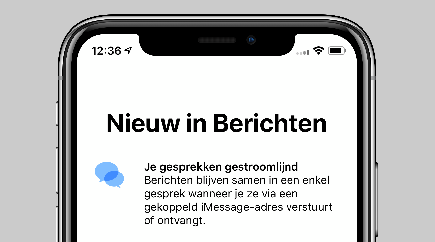 iOS 12 iMessage