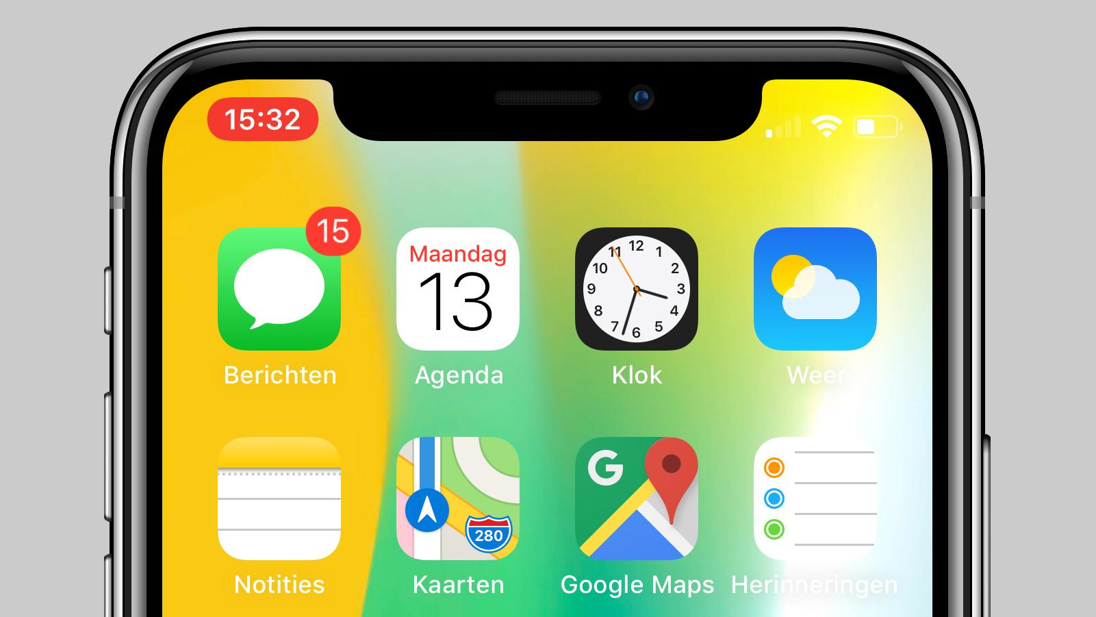 scherm opnemen iPhone