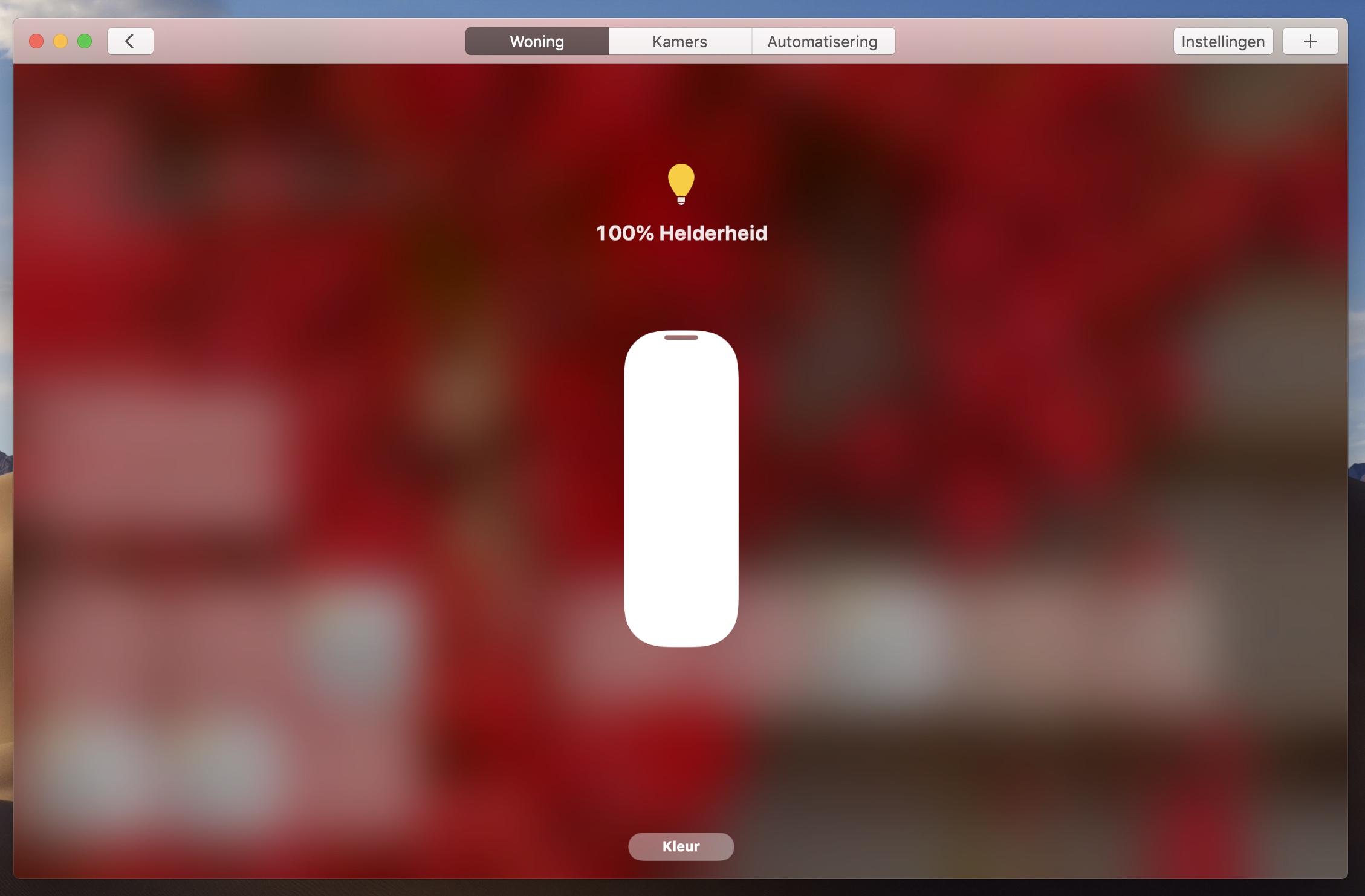 macOS Mojave HomeKit Woning-app 3