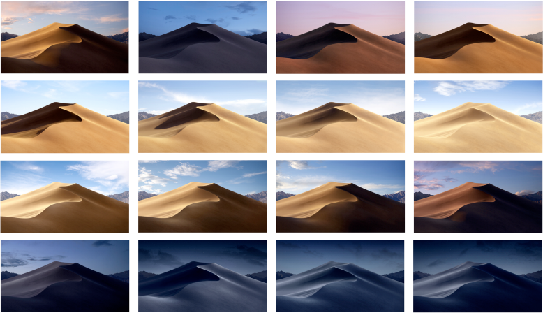macOS mojave wallpaper
