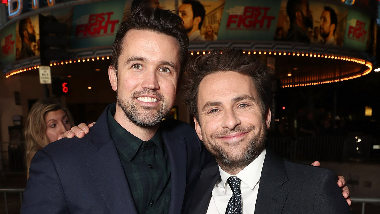Apple Video Rob McElhenney en Charlie Day