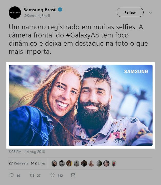 Samsung camera misleiding
