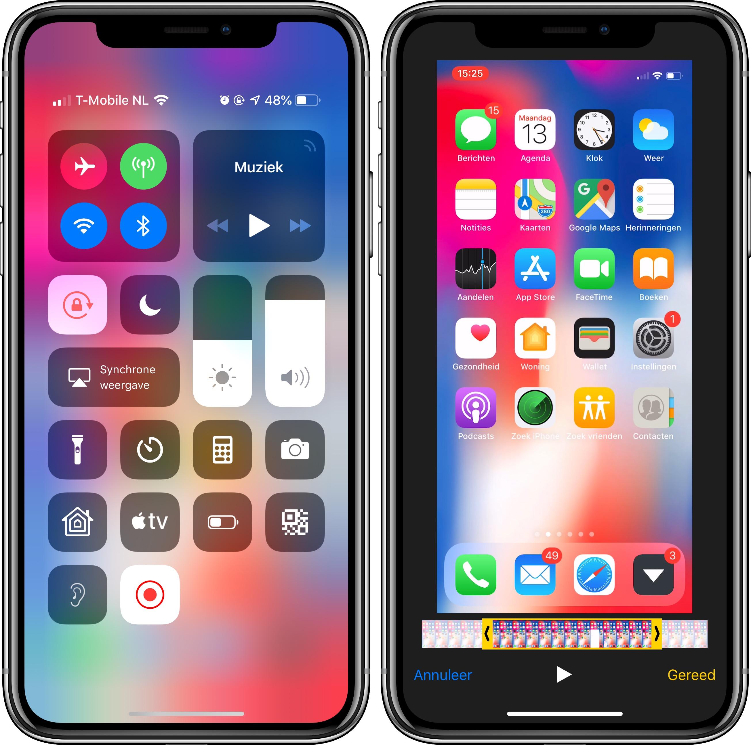 iPhone schermopname bewerken