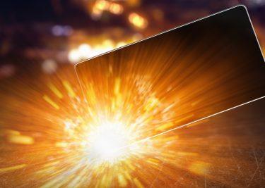 smartphone accu ontploffing