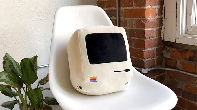Apple kussen throwboy