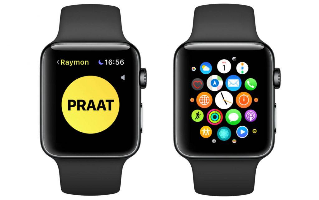Apple Watch schermafbeelding maken