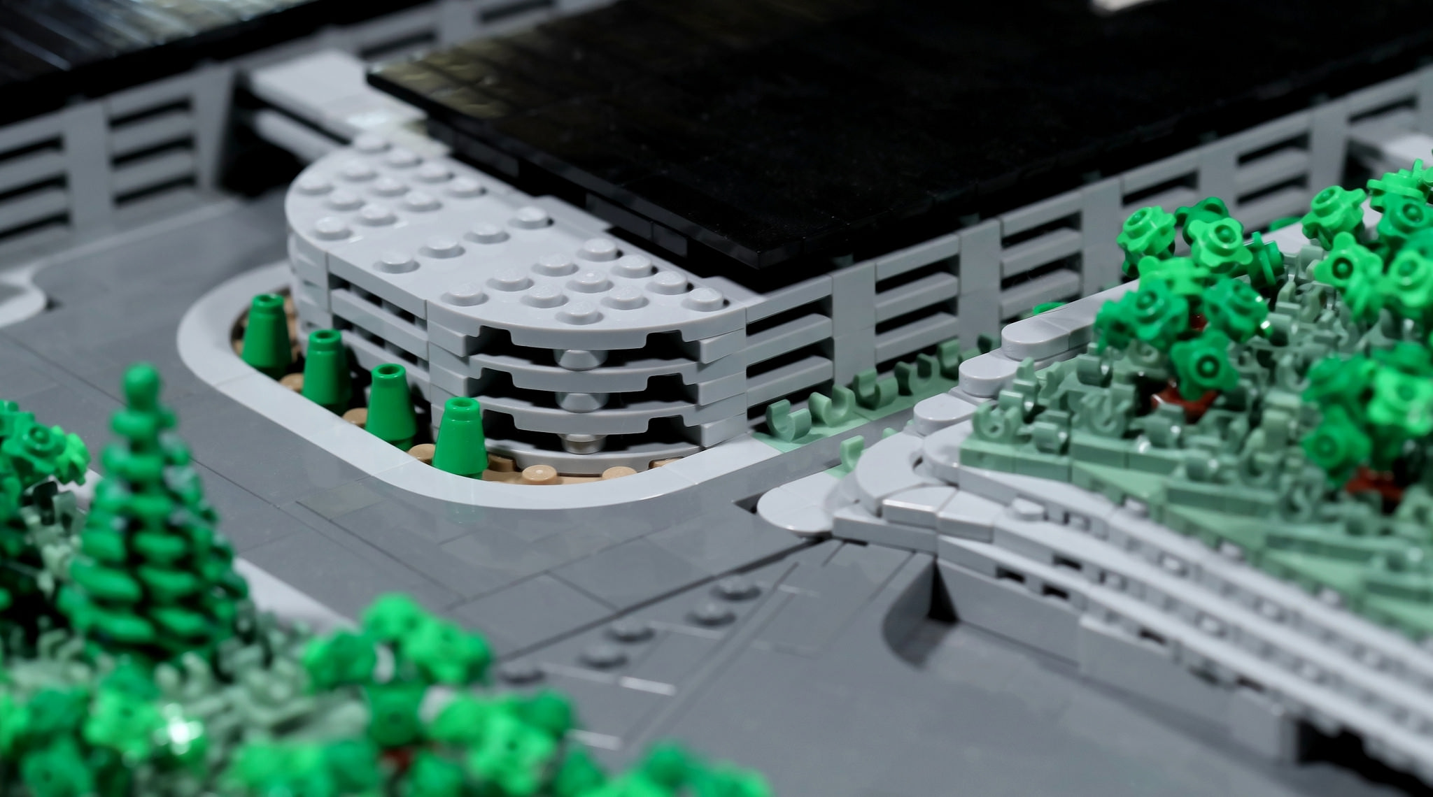 Apple Park Lego Parkeergarage