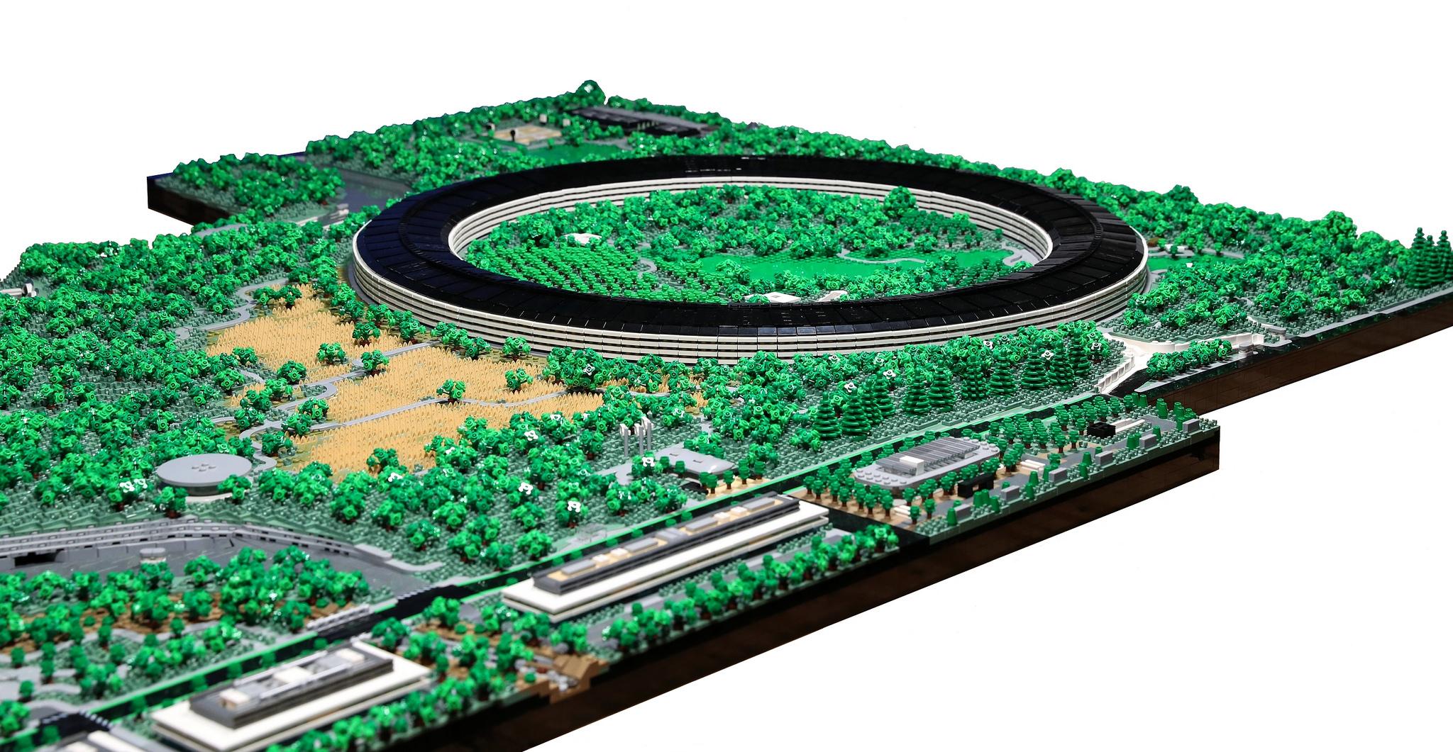 Apple Park Lego overzicht