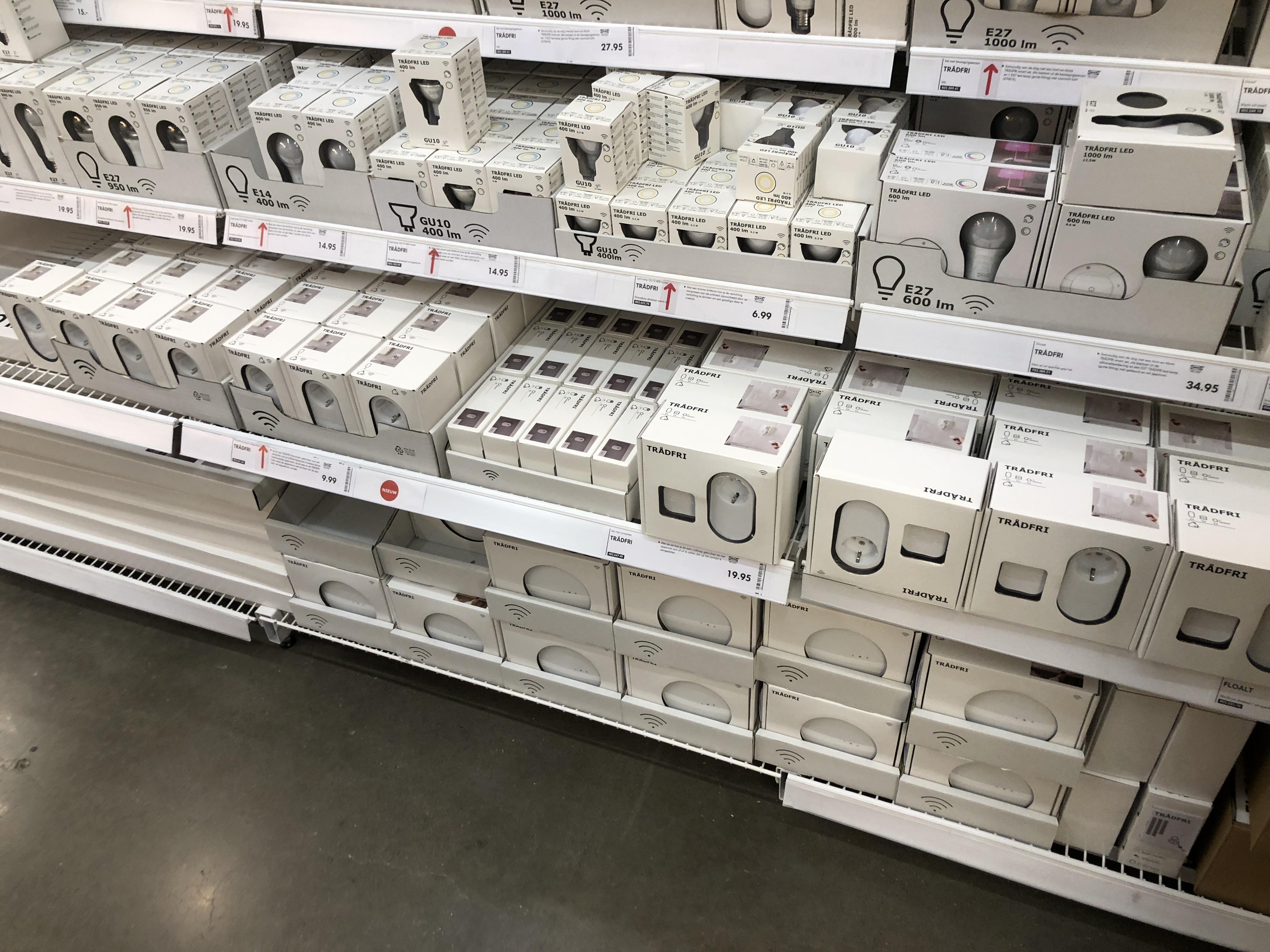 Ikea Trådfri slimme stopcontacten