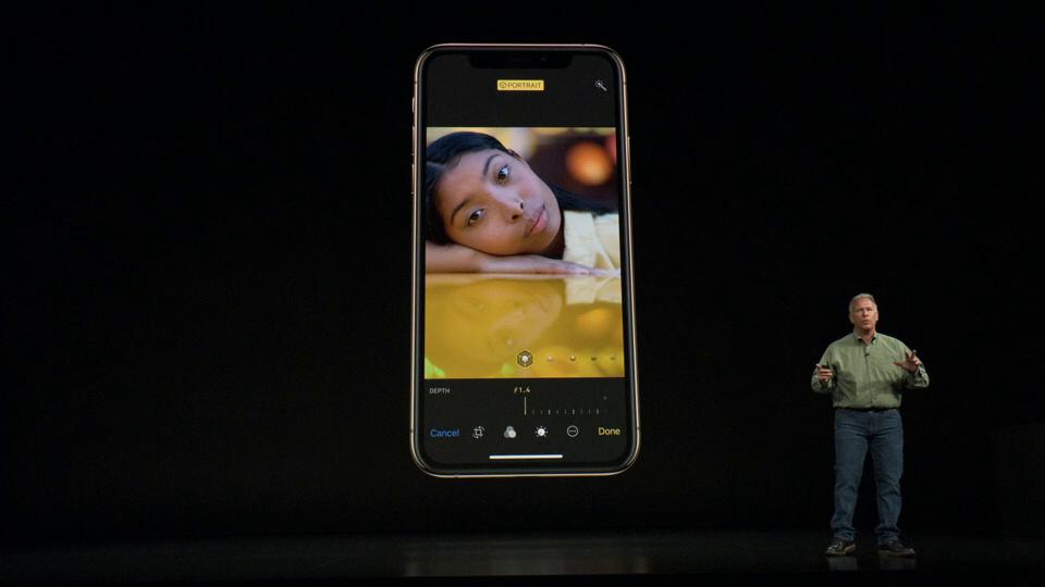 9 iPhone XS camera