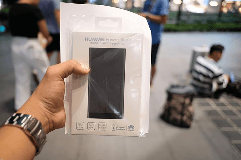 huawei powerbank iPhone Xs 2