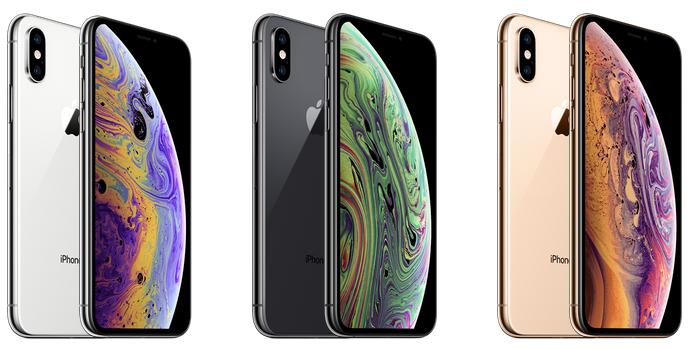 iPhone XS kleuren