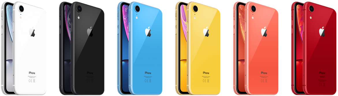 iPhone Xr alle kleuren