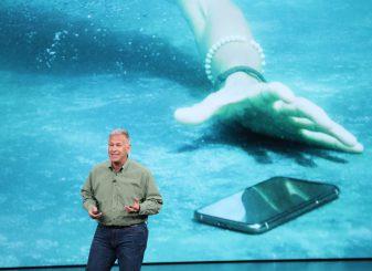 iPhone kan tegen water