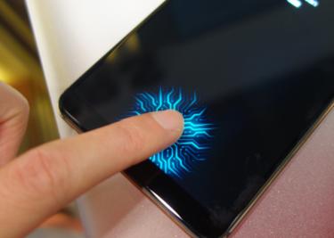 Vingerafrukscanner iPhones