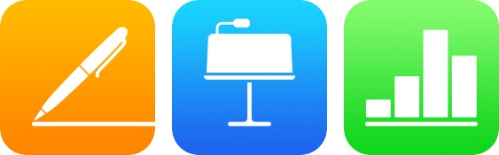 iWork iOS apps