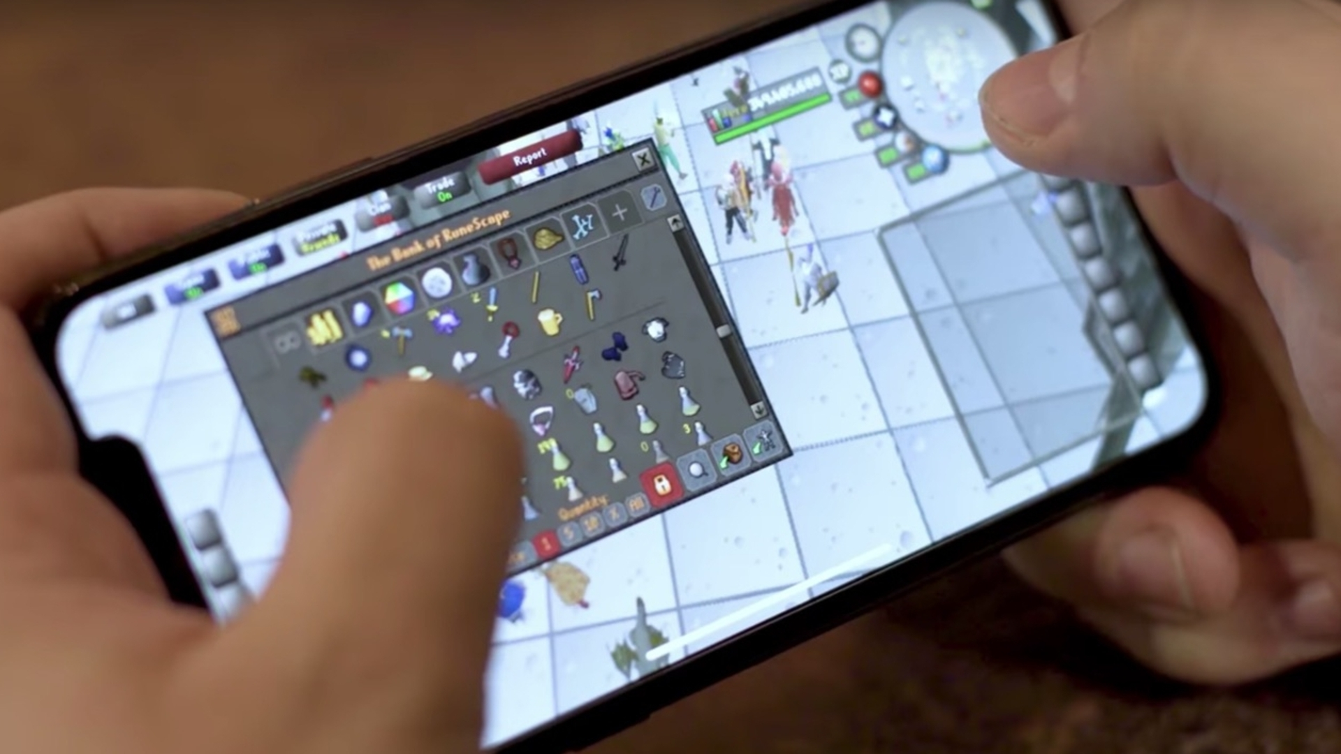 old school runescape iPhone X iOS