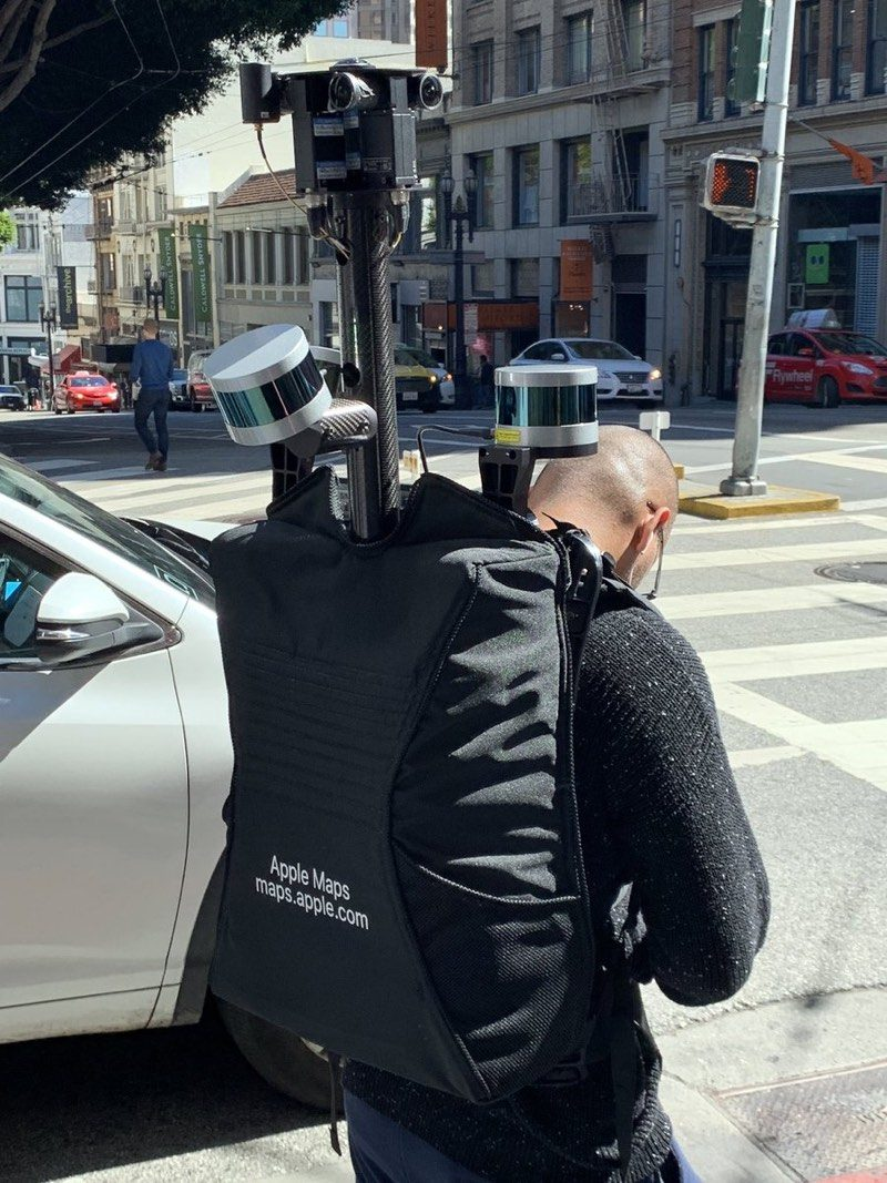 Apple Maps Backpack