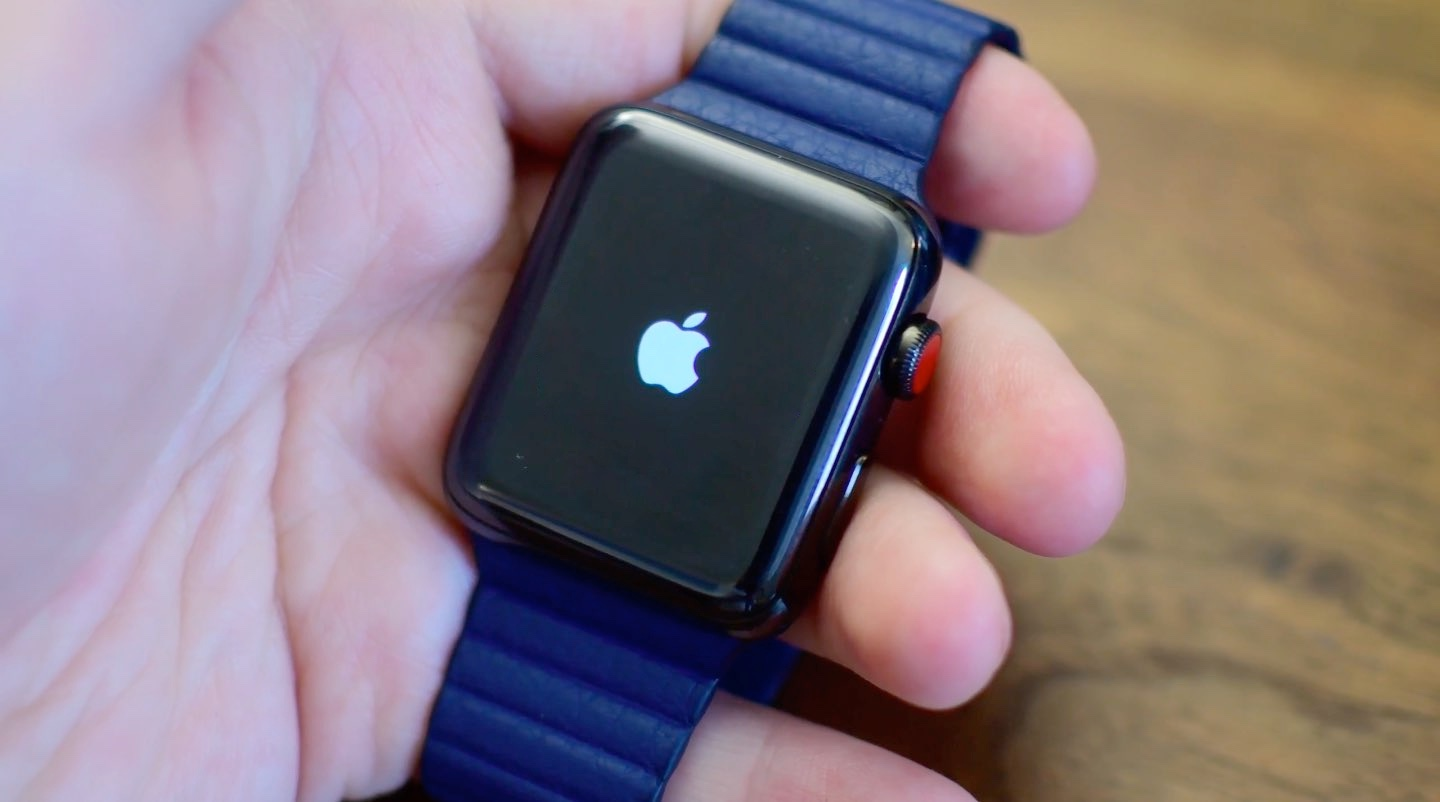 Apple Watch boot