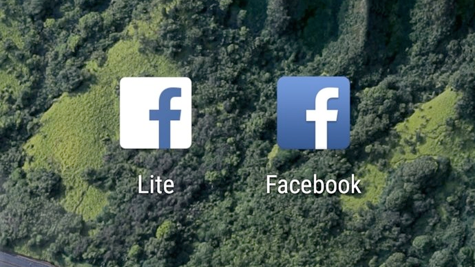 Facebook lite iPhone en iPad