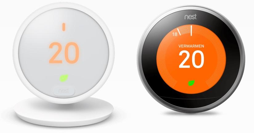 Nest Thermostat E vs v3