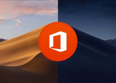 Office Mac Dark Mode 16x9