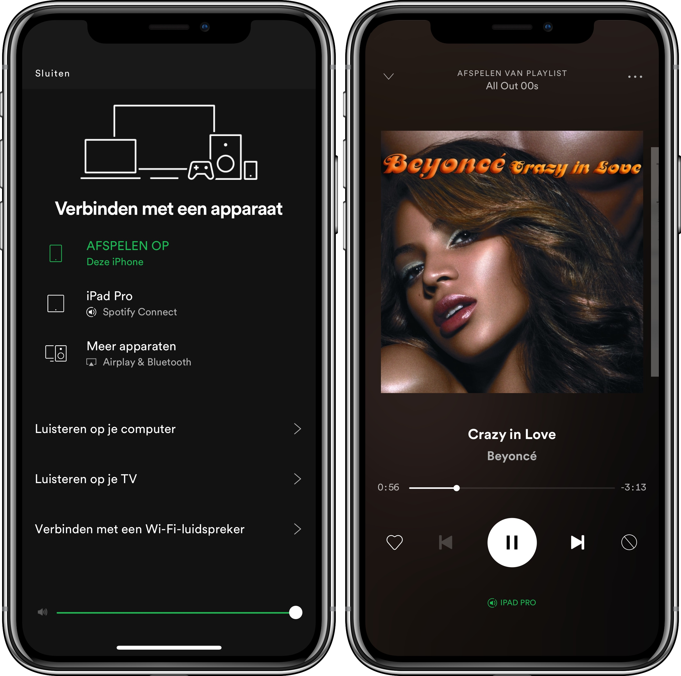 Spotify Connect iPhone iPad