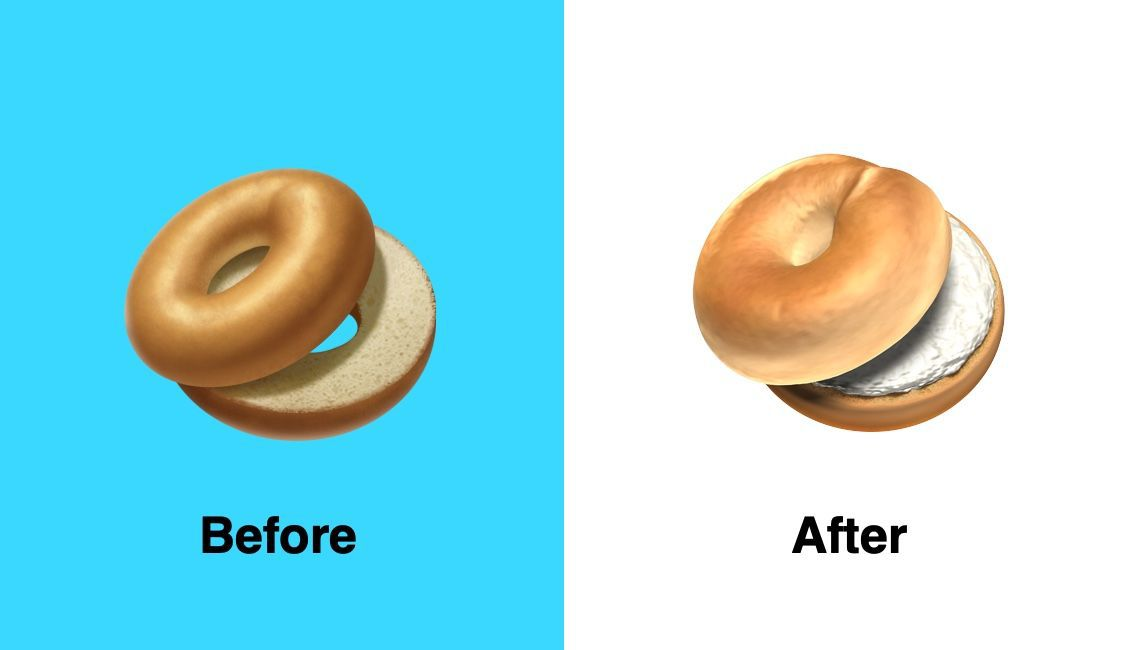 Bagel Emoji Apple