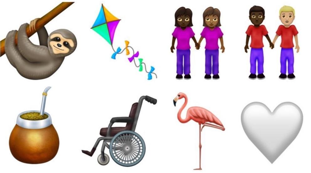 emoji 2019 verder