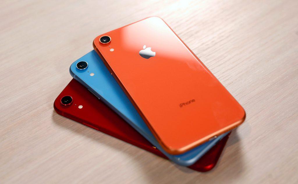 iPhone XR kleuren