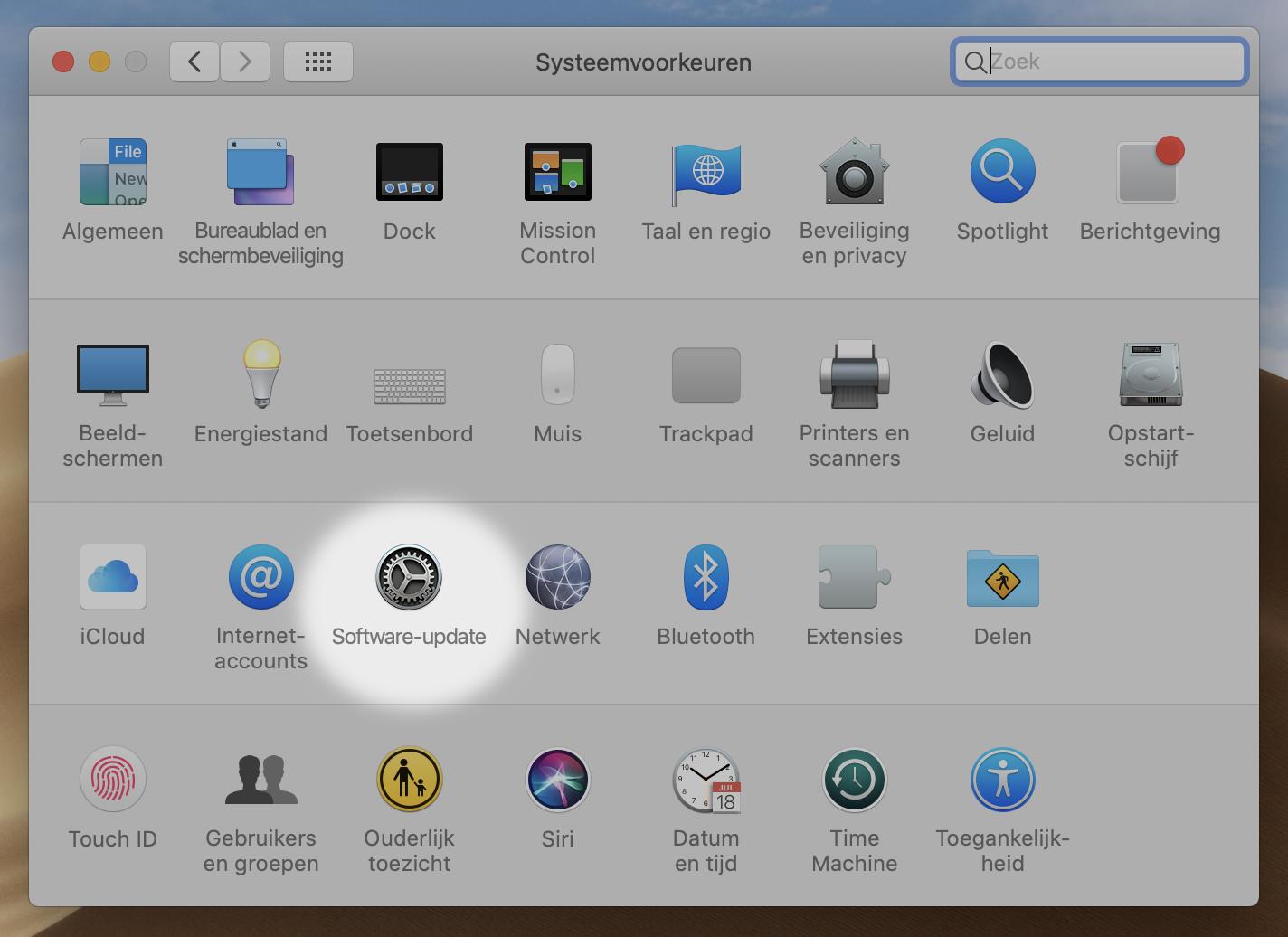macOS macOS Mojave 10.14.1 update