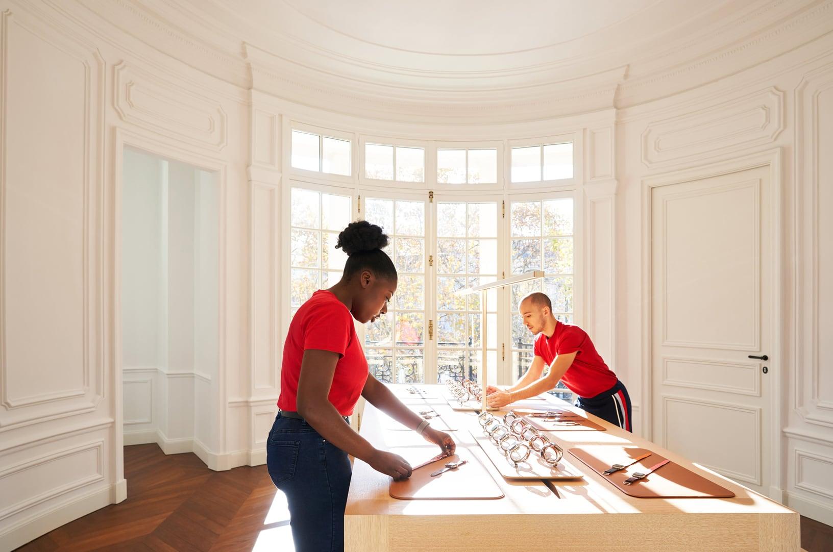 Apple Store Champs-Élysées kamers 2