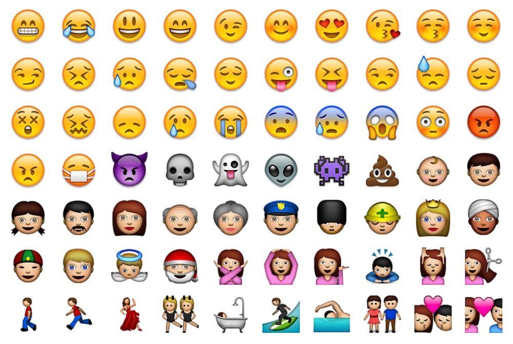 Apple Emoji 2008