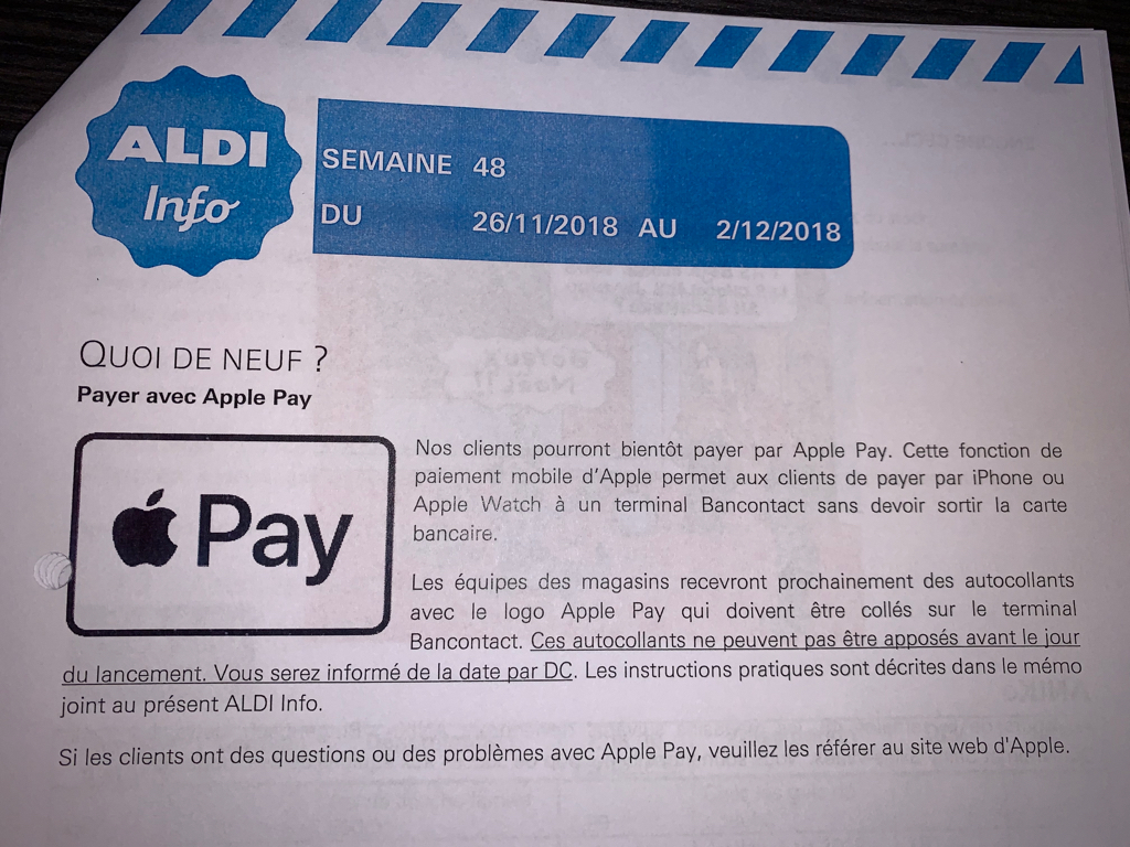 Apple Pay België