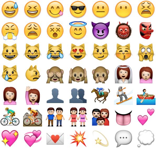 Apple emoji ios 6