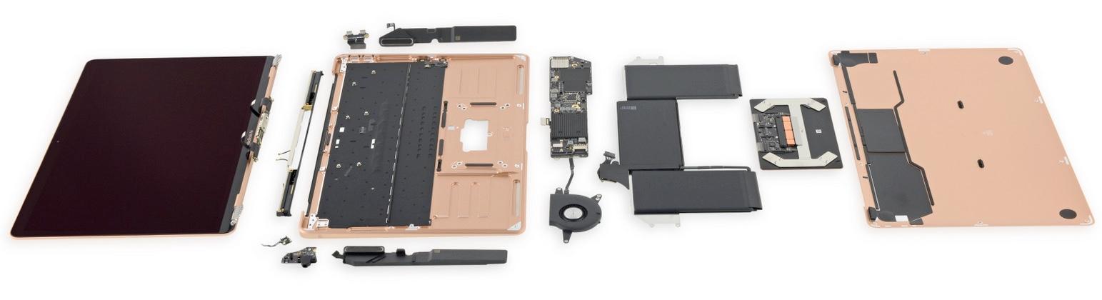 MacBook Air 2018 onderdelen