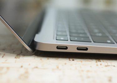 MacBook Air 2018 zijkant