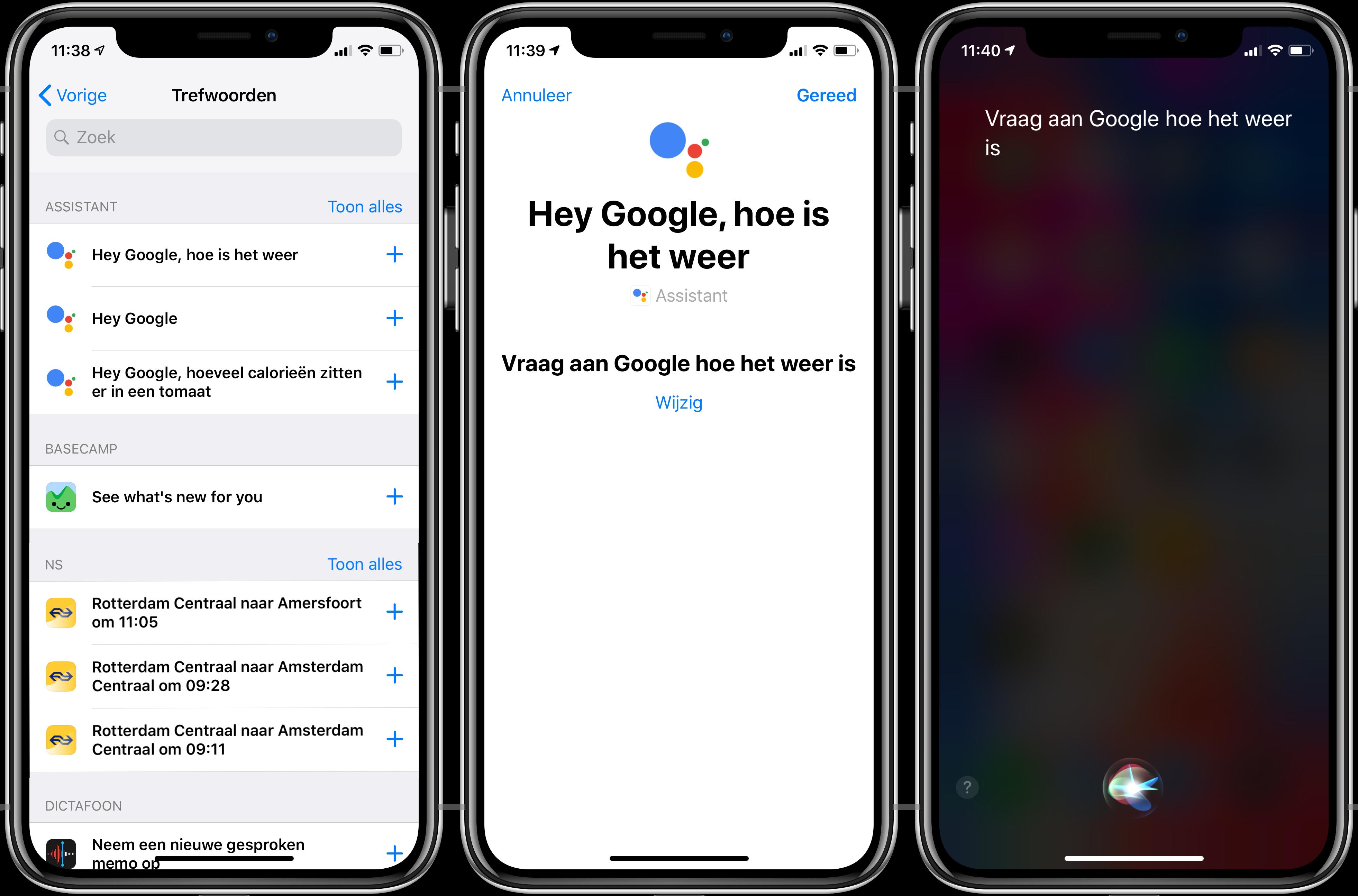Siri Shortcuts Google Assistant 002