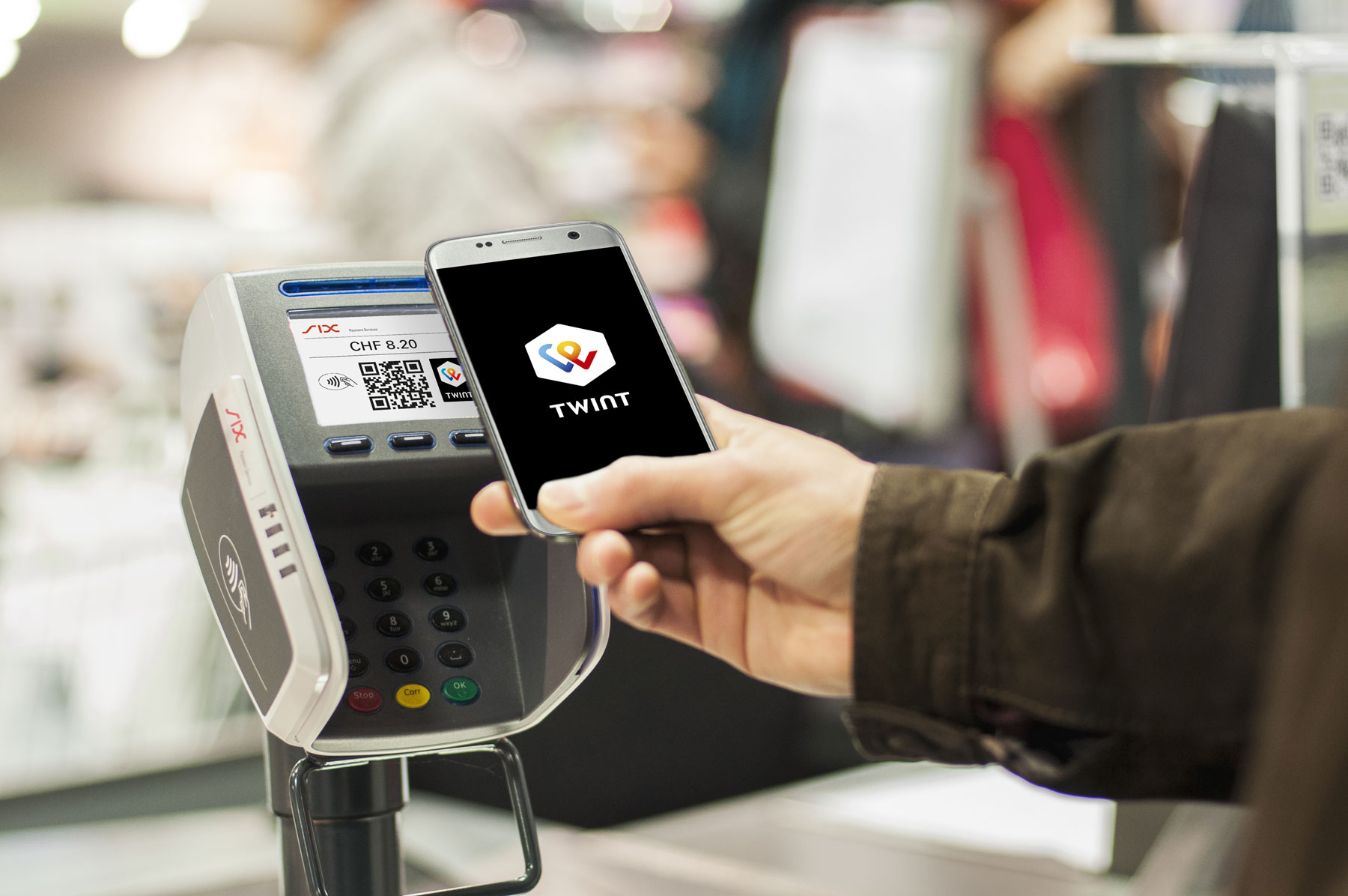 Twint Zwitserland Apple Pay concurrent