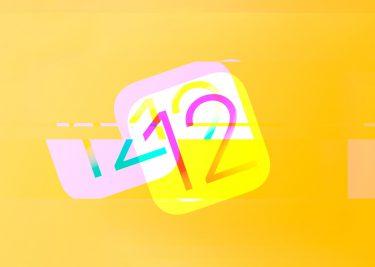 iOS 12 gitch
