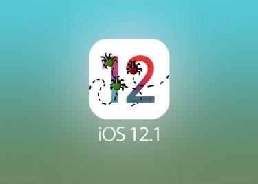 iOS 12.1 bug
