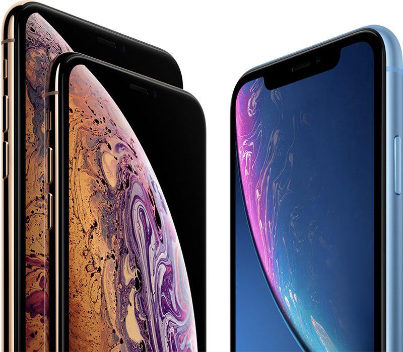 iPhone displays