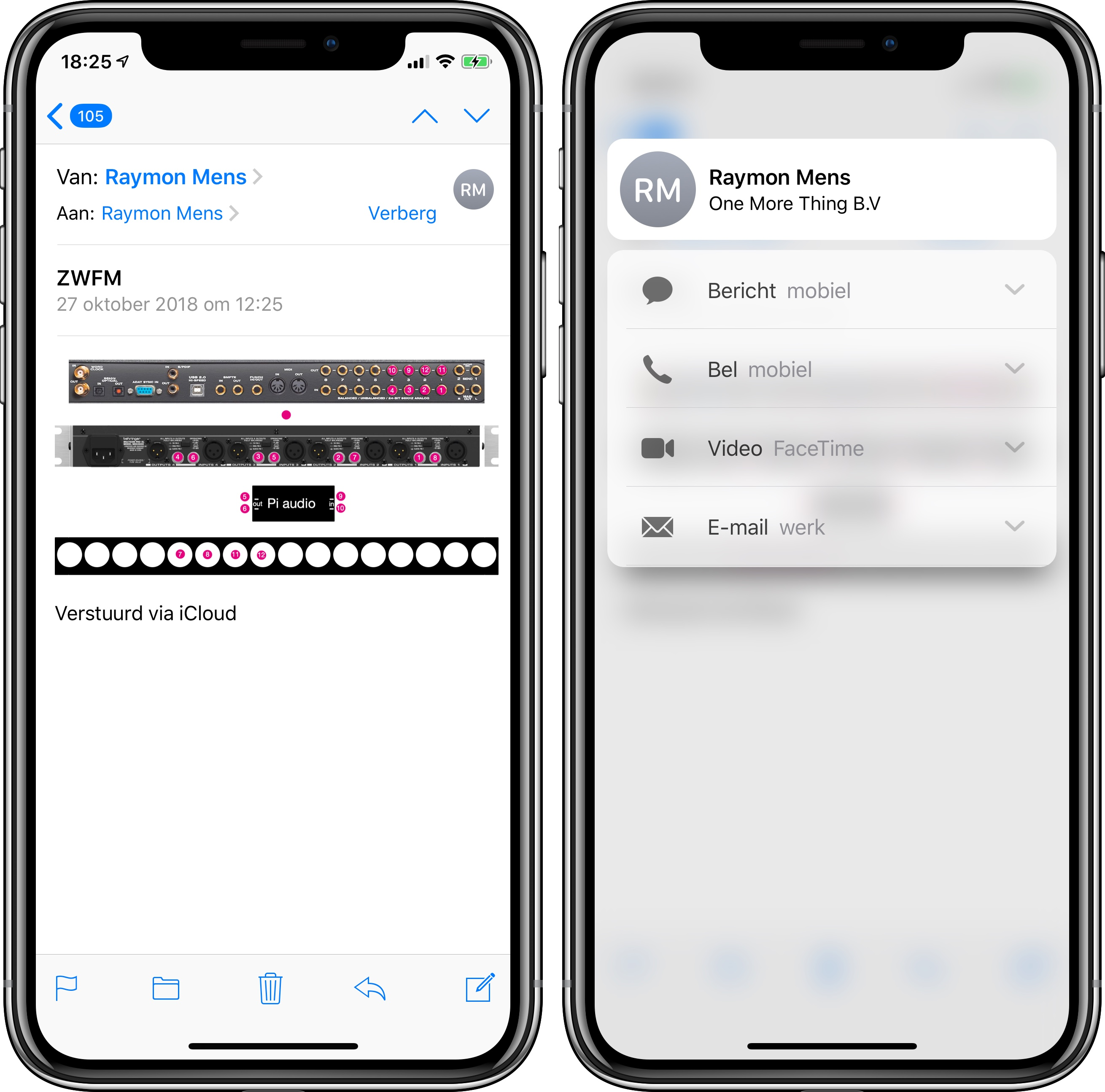 3d touch contact
