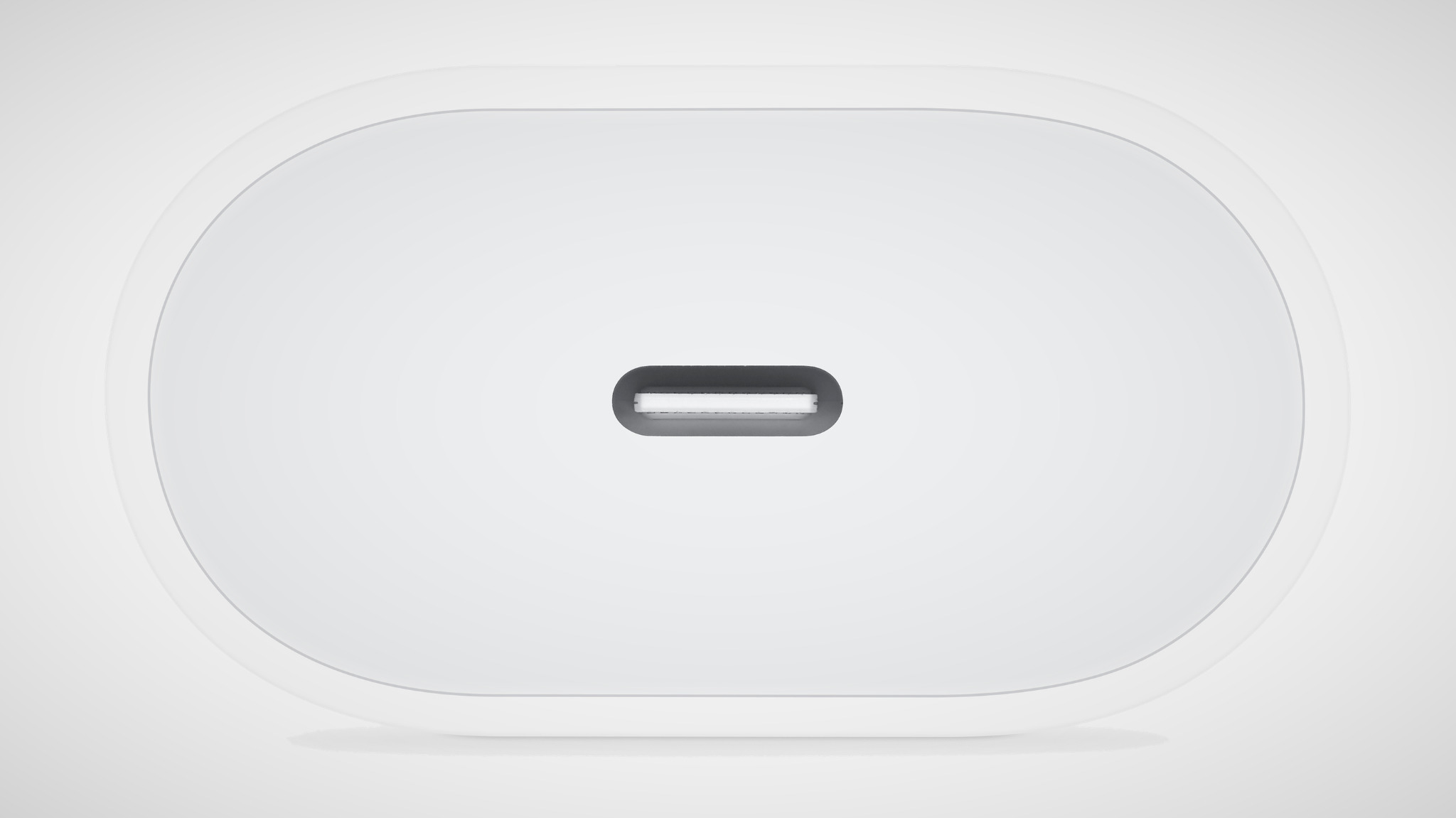Apple USB-C lader achterkant