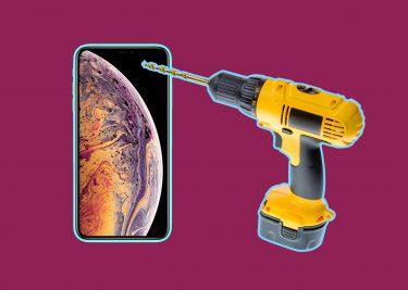 Apple iPhone XS Max patent