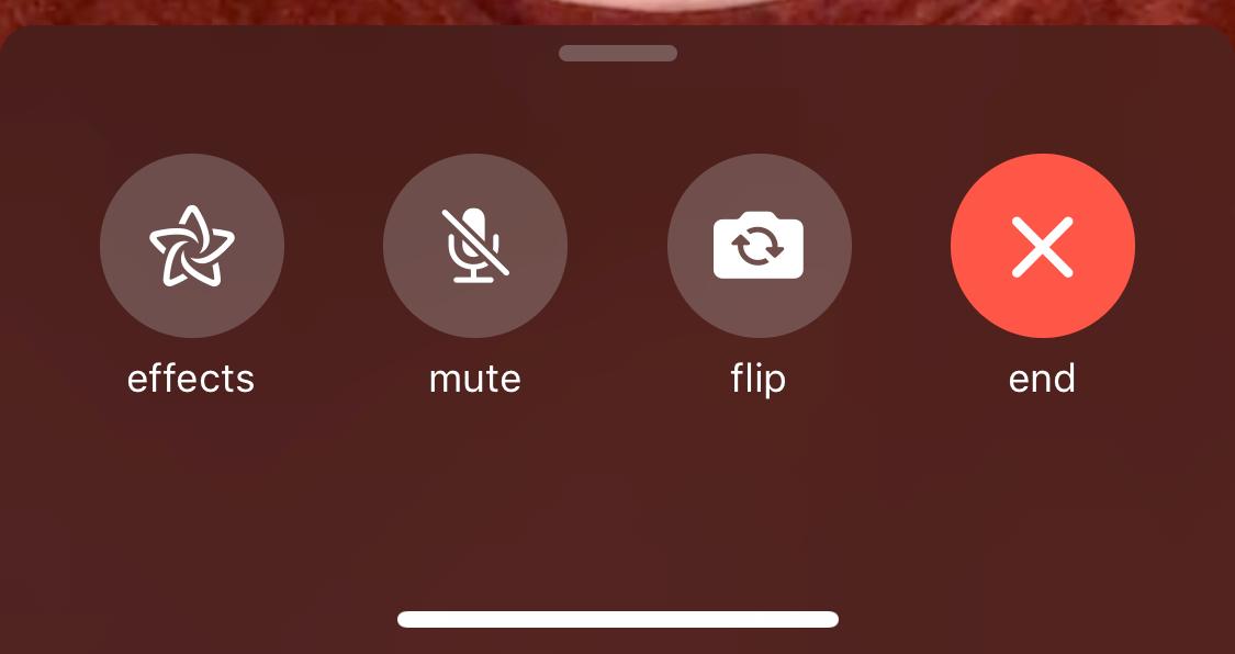 iOS 12.1.1 FaceTime