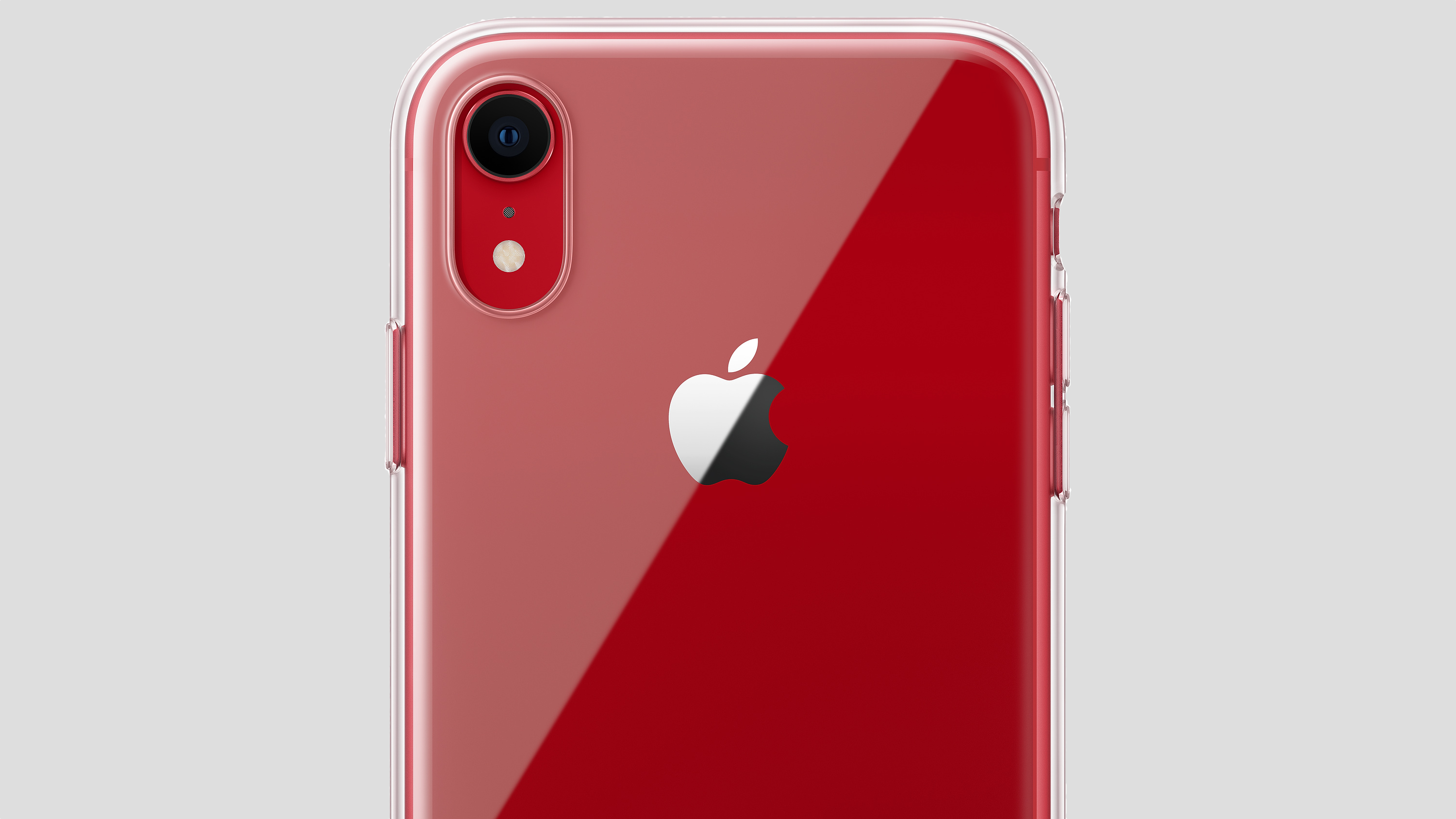 iPhone XR transparant hoesje 16x9