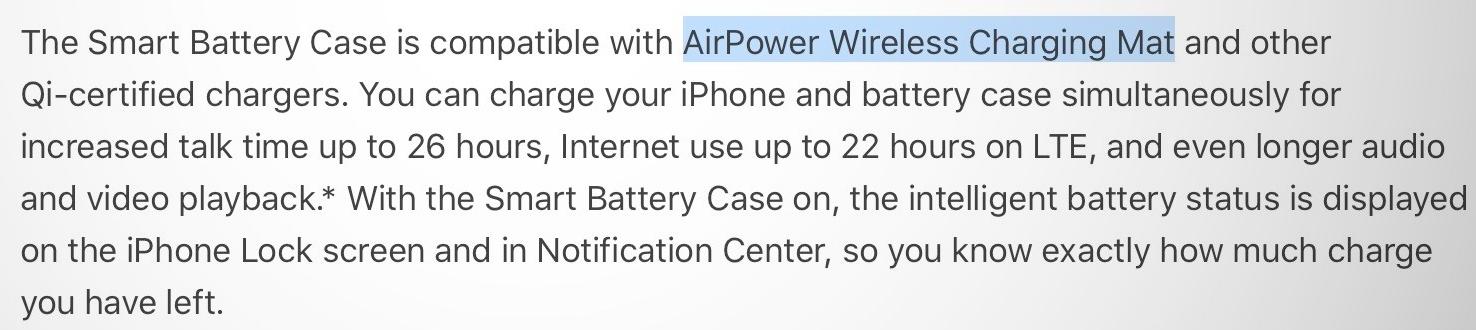 AirPower verwijzing
