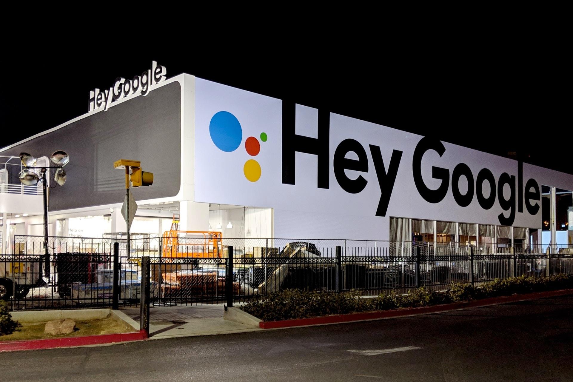 CES 2019 hey Google