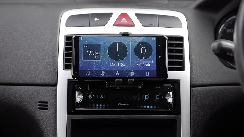 Pioneer autoradio iPhone